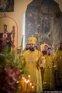 Литургия в Ильинском соборе 470