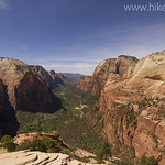 View from Angels Landing