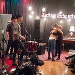 Thu, 12/03/2015 - 7:49pm - Brandi Carlile, Phil and Tim Hanseroth and the band, Electric Lady Studios session, NYC. Hosted by Rita Houston. Photo by Gus Philippas.