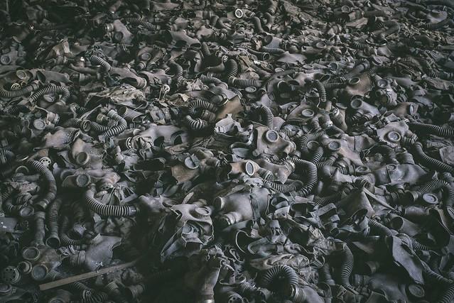 Sea of Gas Masks