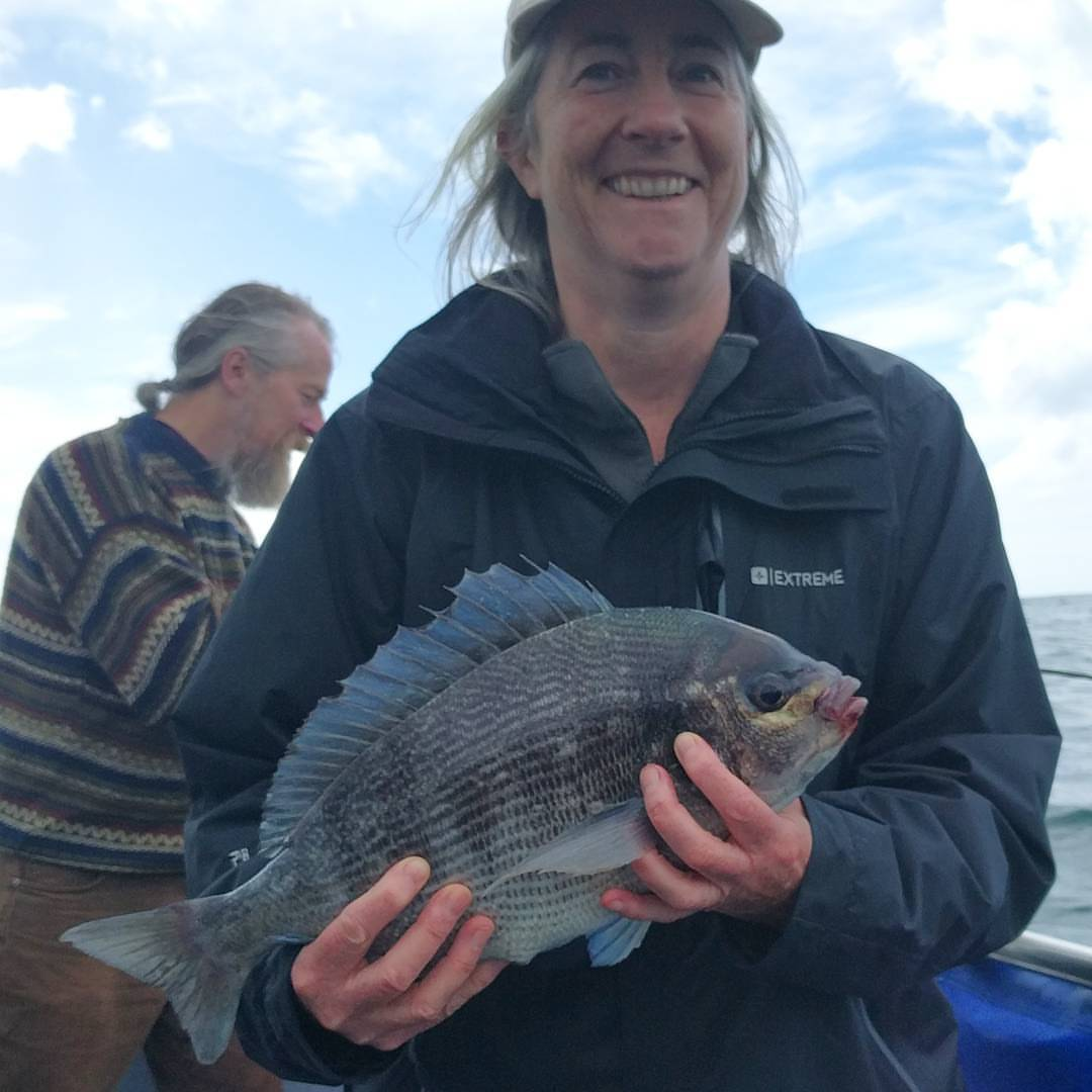 New 2016 heaviest black bream. Weighing in at 3lb 9oz.