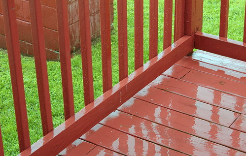 rain springrain ashevillenc ashevillenorthcarolina rainreflections rainondeck katharinehanna