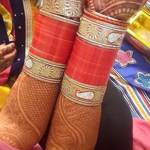 wedding #chura #kalire #bridal #chura #shahi | saluja surjit@gmail