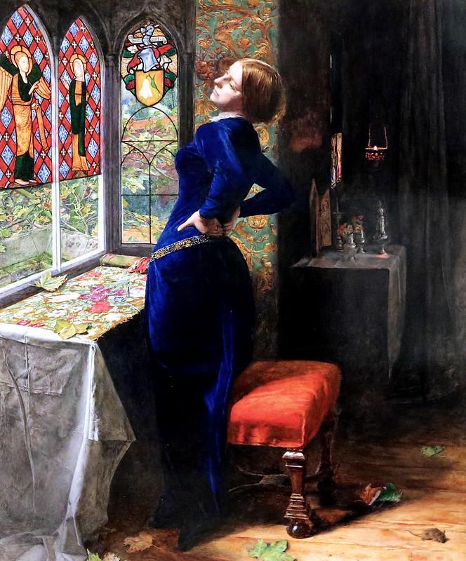 IMG_1937A John Everett Millais. 1829-1896. Mariana. 1851.   Londres. Tate Britain.