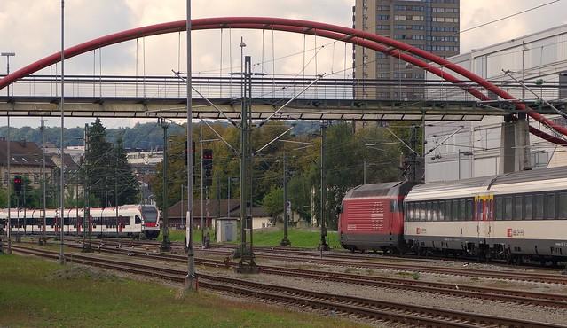 Schweizer Rollmaterial im Ausland / Swiss rolling stock in Germany