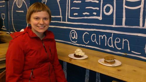Cookies and scream @ Camden
