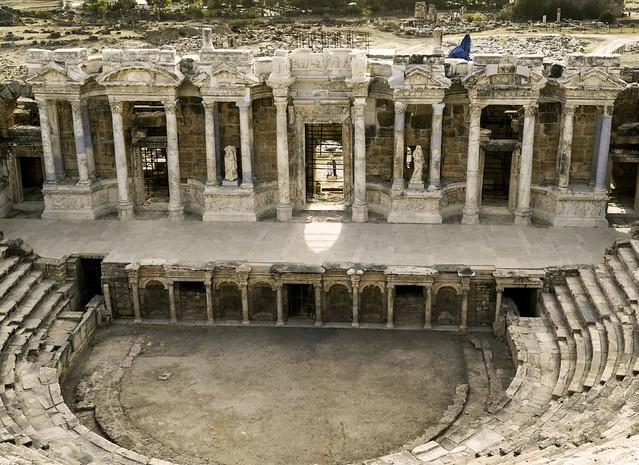 Hierapolis: The Roman Theater – VI: The Scaenae