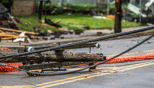 Downed Power Lines | by Tony Webster