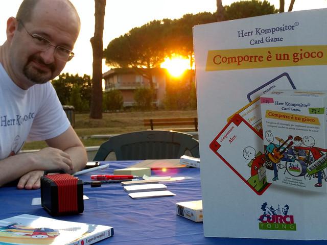 2016 - Bagno a Ripoli, Herr Kompositor al Giardino I Ponti