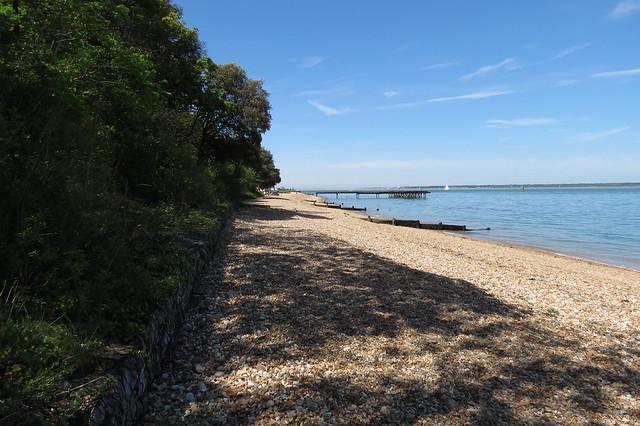 The coast near Fort Victoria