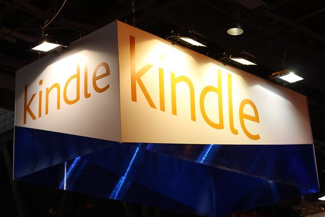 Kindle (Amazon) - Salon du Livre de Paris 2015