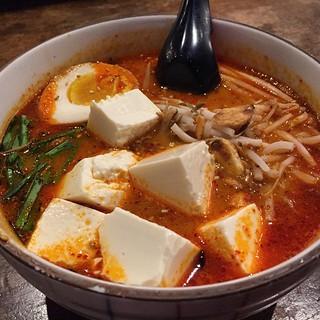#kvpinmybelly Spicy Sesame Ramen at Tajima in #SanDiego Kearny Mesa. Subbed out ground pork for tofu. NOM! #ramenlove   by queenkv