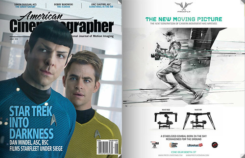 American Cinematographer - Star Trek Into Darkness, right Freefly add | by alexis marcou