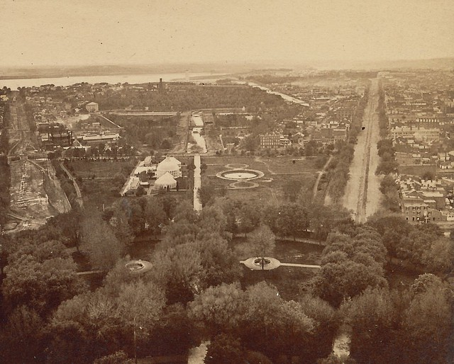 View from the Capitol (c. 1870)