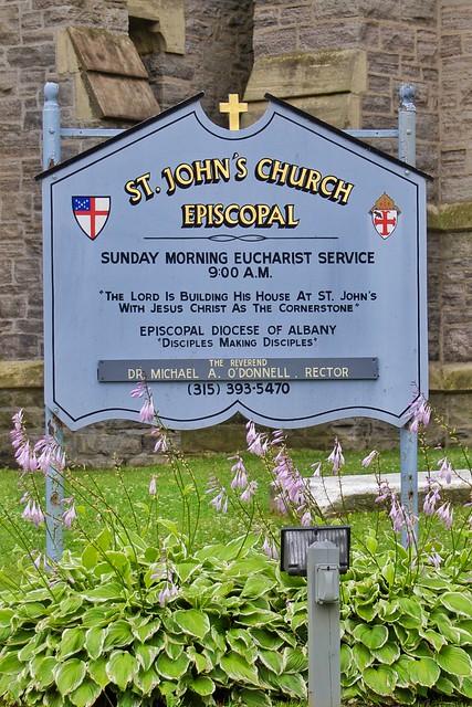 Ogdensberg New York ~ St Johns Church Espicopal ~ HIstorical