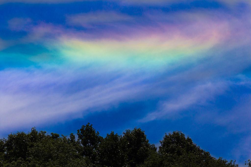 Fire rainbow (circumhorizontal arc)