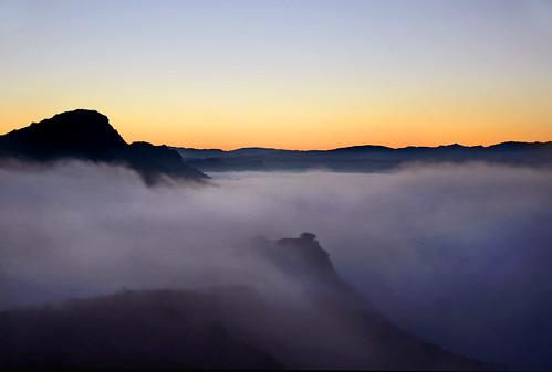 thousandoaks fog sunrise