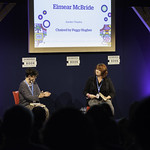 Eimear McBride   The Irish novelist introduces her much-anticipated follow up to A Girl is a Half-formed Thing  © Robin Mair