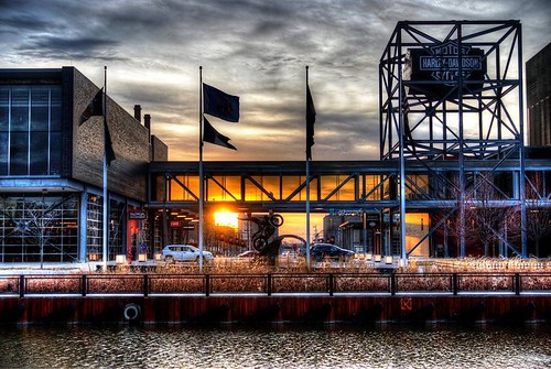 Harley Davidson Museum Sunset. | by nordiesworld1