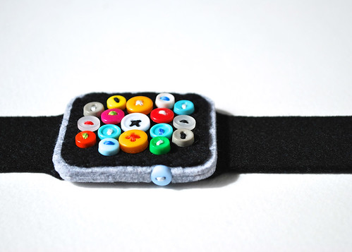 Super Low-Tech Apple Watch #8 black | by hine