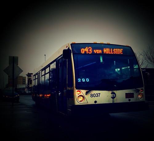 Q43: NovaBus LFS - MTA/NYCT Bus #8037 - Sutphin Blvd/Archer Avenue Long Island Railroad Station, Jamaica, Queens, New York. | by Esoteric_Desi