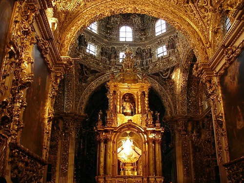 Templo de Santo Domingo, capilla del Rosario