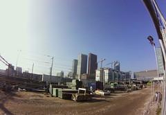Erasmuslijn construction site
