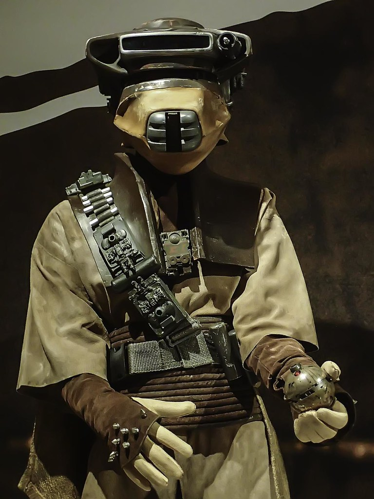 Closeup Of Princess Leia S Boushh Disguise From Star Wars Flickr