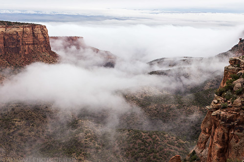 Monument Canyon Fog | by IntrepidXJ