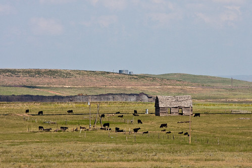 abandoned abandonment animals cows fields mines oregon wyoming