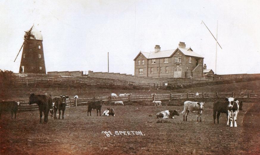 Speeton Mill 1920 (archive ref SP-2-346)