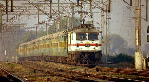 garibrath express wap7 railfanning indian railways