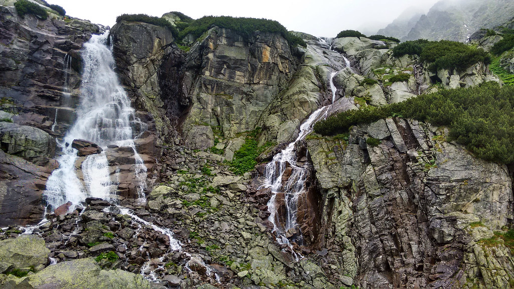 Skok waterfall, High Tatras, Slovakia