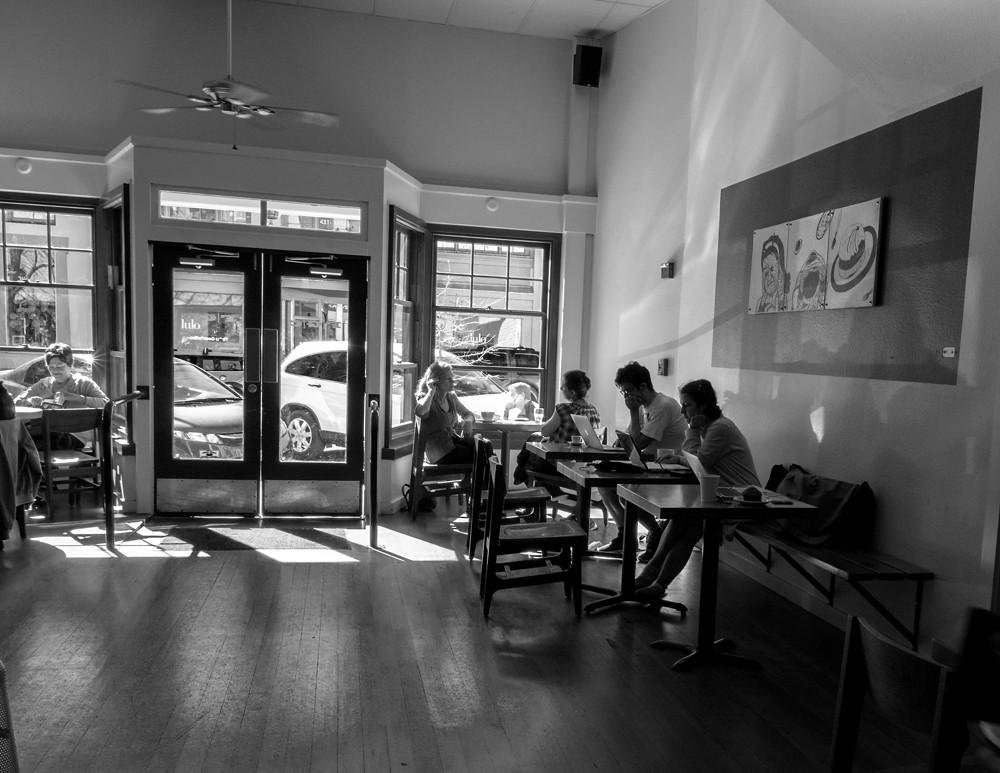 Flying Goat Coffee Shop Healdsburg Ca Dale Godfrey Flickr