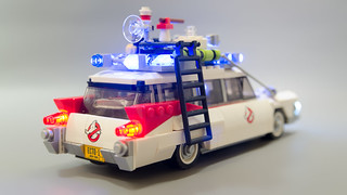 Lego Ghostbusters Ecto-1 Light Mod 20 | by M600