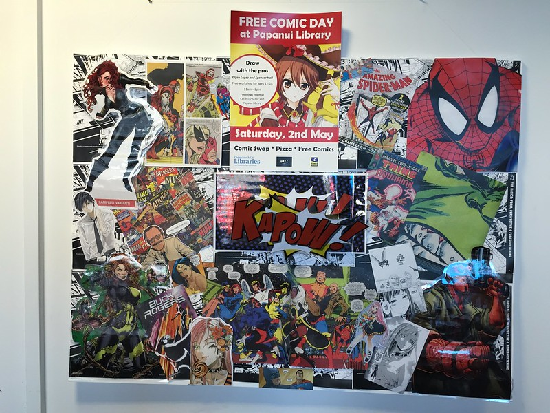 Free Comic Day at Papanui Library