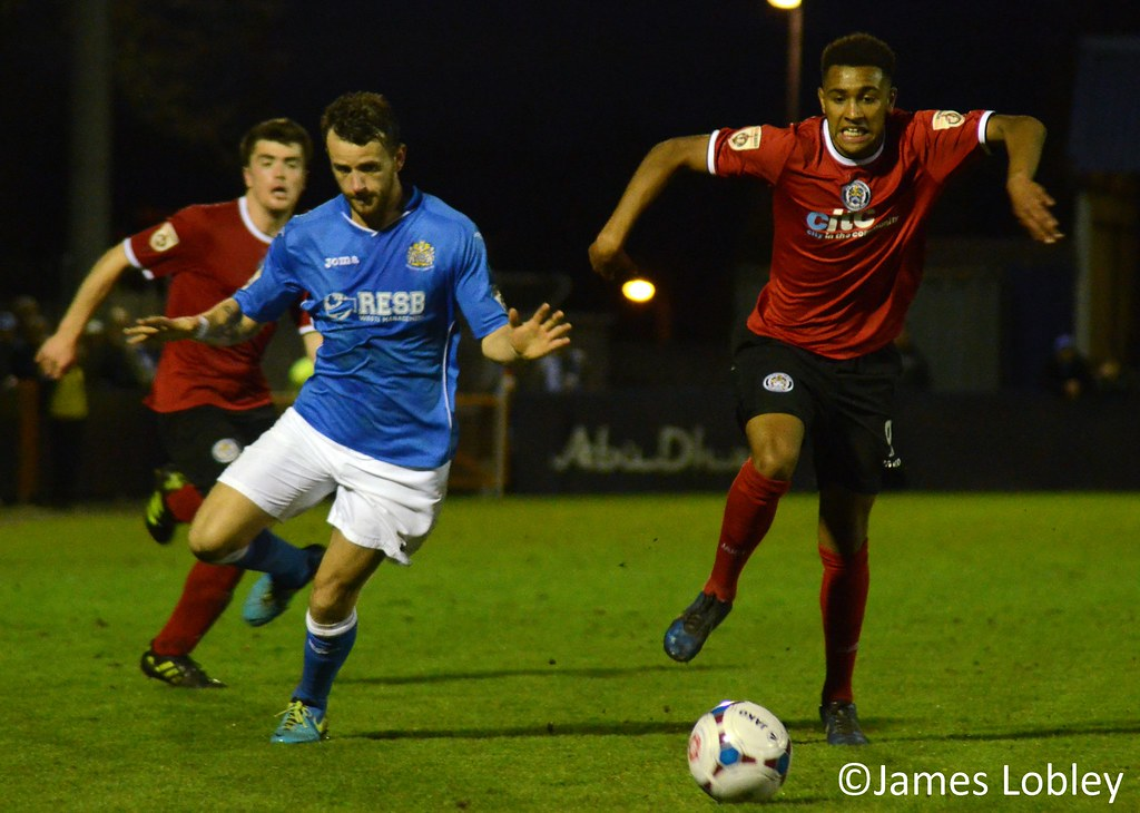 Hyde 1-1 Stockport County | Hyde drew 1-1 with Stockport ...
