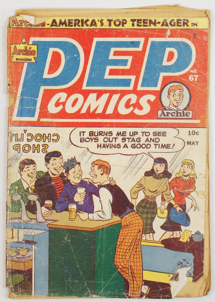 HD0326 Pep Comics 1940 #67 Archie DSC04527