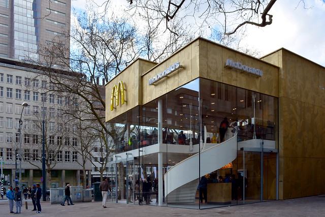McDonalds Coolsingel Rotterdam