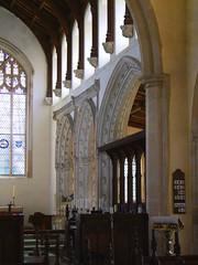 chancel south arcade