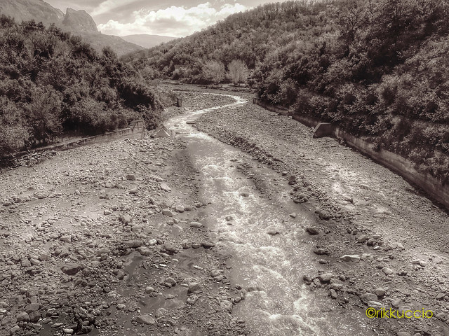 Fiume nel cuore dei nebrodi!!! River in the heart of the mountains nebrodi !!!