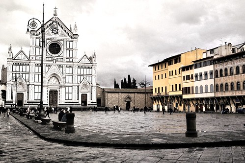 Piazza Santa Maria Novella a Firenze (Toscana)