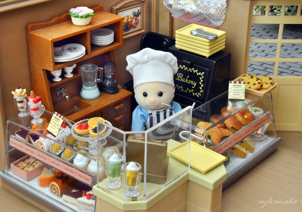 Sylvanian Families Bakery Cafe You Can Choose From A Gr Flickr