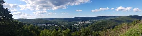 View of Jim Thorpe