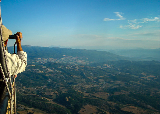 A l'horizon la Haute Provence