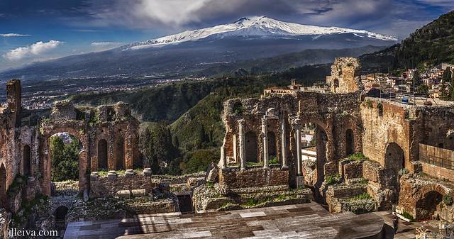 Greek Theatre of Taormina (Sicily)