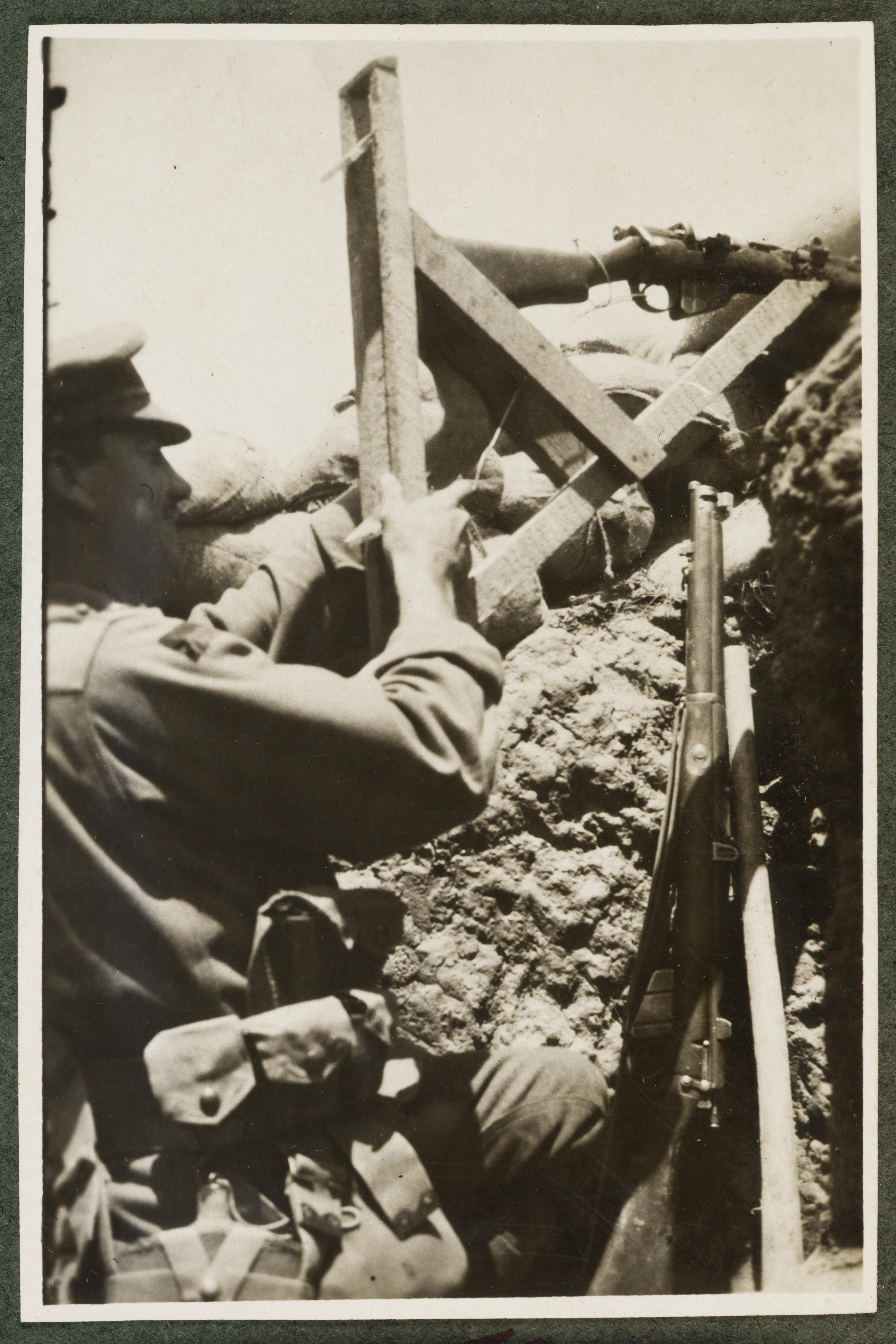 In the Trenches, Henry Charles Marshall