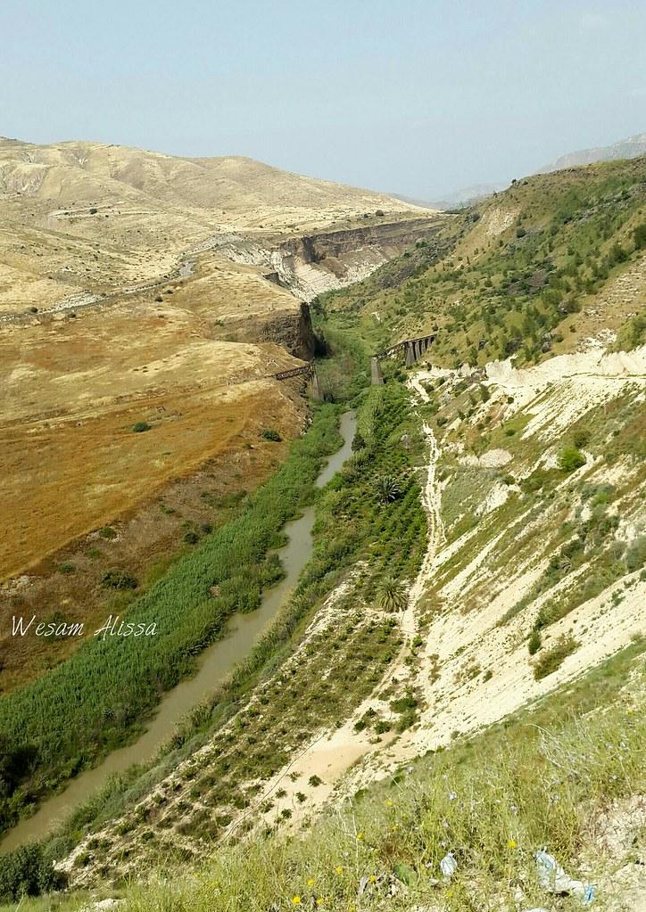 Yarmouk River | #Yarmouk #river between #Jordan and #Palesti