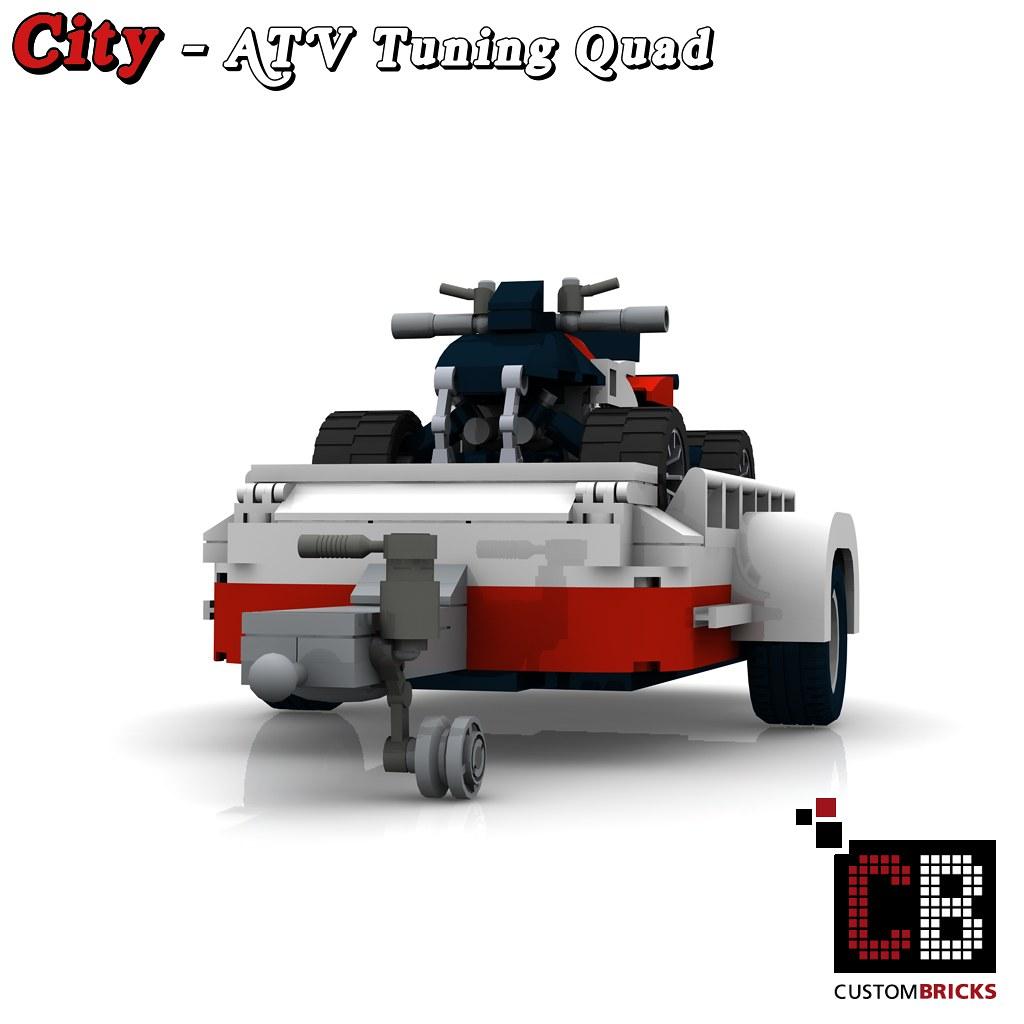 LEGO Custom VW T1 Bus ATV Tuning Quad 10220 CB1   The Custom