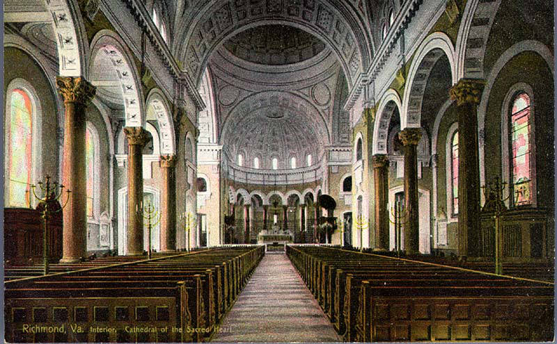 Cathedral of the Sacred Heart, Interior, Richmond, Va  | Flickr